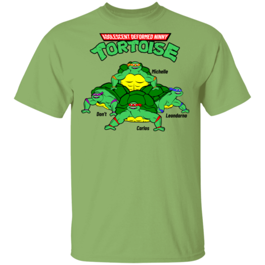 Adolescent Deformed Ninny Tortoise - Kiwi Green