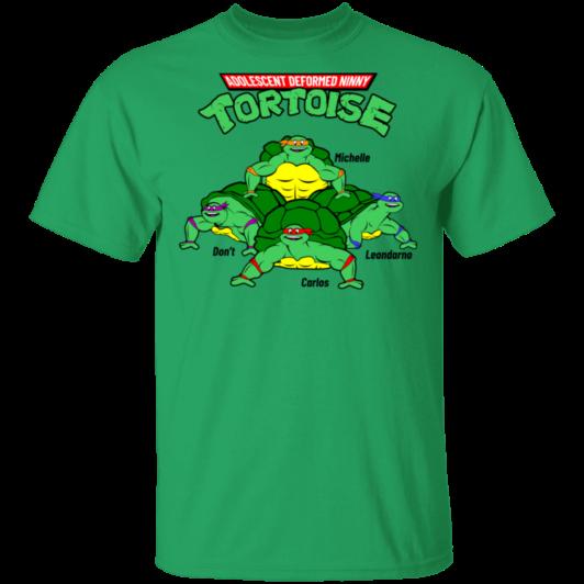 Adolescent Deformed Ninny Tortoise - Irish Green