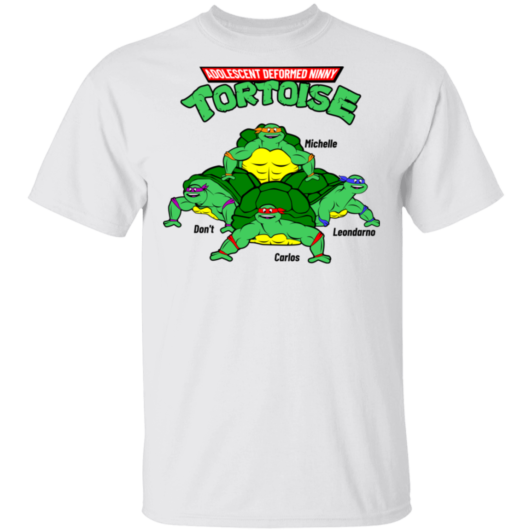 Adolescent Deformed Ninny Tortoise - White