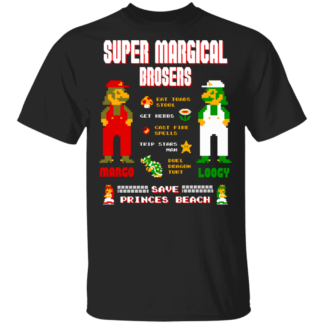 Super Margical Brosers - Black