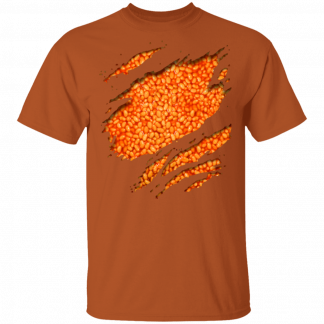 Filled With Beans - Texas Orange