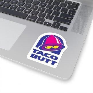 Taco Butt Sticker - Version 2