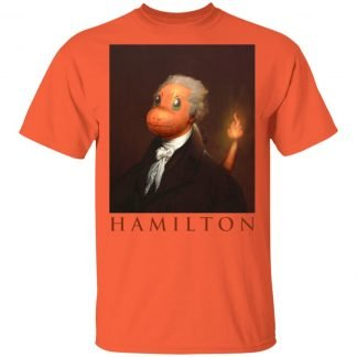 Hamilton T-shirt - Orange