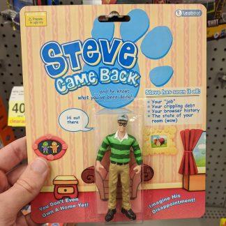 Steve (Burns) Came Back